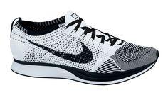 b276013e20 Kicks Deals – Official Website Nike Flyknit Racer White/Black ... Nike  Flyknit