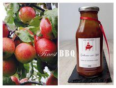 Grillsauce mit Apfel Geschenk zum Grillen Kochen  von Obst-Koerbchen auf DaWanda.com