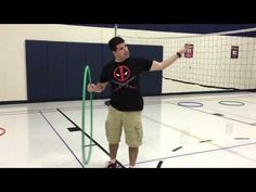 "TeachPhysEd - Holes - YouTube  really fun target practice game. Make sure players yell ""pause"" when they make it and go retrieve the hoop. When this happens, all players must stop playing. Encourage the players on the other team to help them to so the game can continue quickly. Also tell players that they cannot stand in the hoops. Could have two games going at ones so it's less crowded."