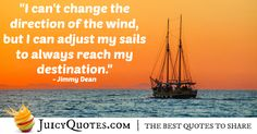 Quote About Inspiration - Jimmy Dean Change Is Good Quotes, Jimmy Dean, Sharing Quotes, Be Yourself Quotes, Picture Quotes, Inspirational Quotes, Good Things, Life, Life Coach Quotes