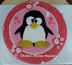 Pinguïn taart
