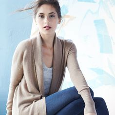 Layer on the luxe with cashmere cardigans for those cooler afternoons.