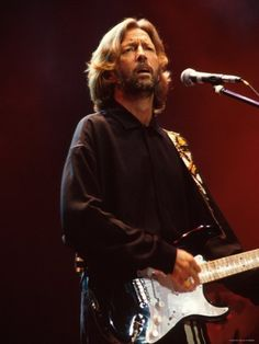 Eric Clapton Premium Photographic Print - 30 x 41 cm Stoner Rock, 80s Music, Music Love, Soul Music, Hard Rock, The Yardbirds, New Wave, Blues Music, Rock Legends