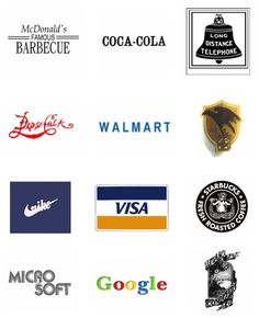 The Evolution Of 12 Famous Brand Logos In Awesome GIFs - DesignTAXI.com