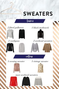 A Complete Sweater Wardrobe