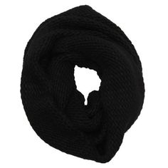 Wyatt Black popcorn knit wool blend infinity scarf ($35) ❤ liked on Polyvore featuring accessories, scarves, bufandas, black, infinity scarves, tube scarves, infinity scarf, infinity loop scarves and circle scarf