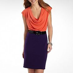 I have an eggplant purple pencil skirt. Need to try it with some bold colors this spring instead of just white.