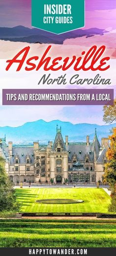 An insider local's guide to Asheville, North Carolina! Find out the local scoop on what to do, where to eat and where to go out! Nordamerika Reisen Asheville Insider Guide: Top Things to do in Asheville, NC Asheville North Carolina, North Carolina Mountains, Visit Asheville, North Carolina Cities, South Carolina, Asheville Things To Do, Lake Lure North Carolina, Highlands North Carolina, North Carolina Vacations