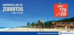 #CostamarTravel El sol es más rico en el norte, nuestra #oferta incluye: - 02 noches en Balcones de Zorritos Hotel 3*. - 02 desayunos. Compra hasta el 30 de Setiembre --> http://pe.costamar.com/