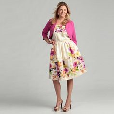 39f12368bd2 Jessica Howard Women s Plus Size Pink Dress