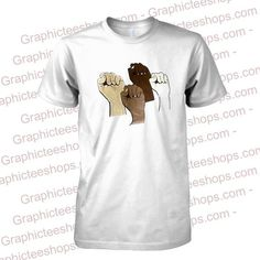 hand clenched tshirt