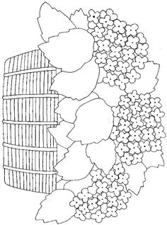 Flowers coloring page 13 - Coloring Pages Hand Embroidery Patterns, Applique Patterns, Ribbon Embroidery, Applique Designs, Flower Patterns, Cross Stitch Embroidery, Cute Coloring Pages, Coloring Books, Sewing Crafts