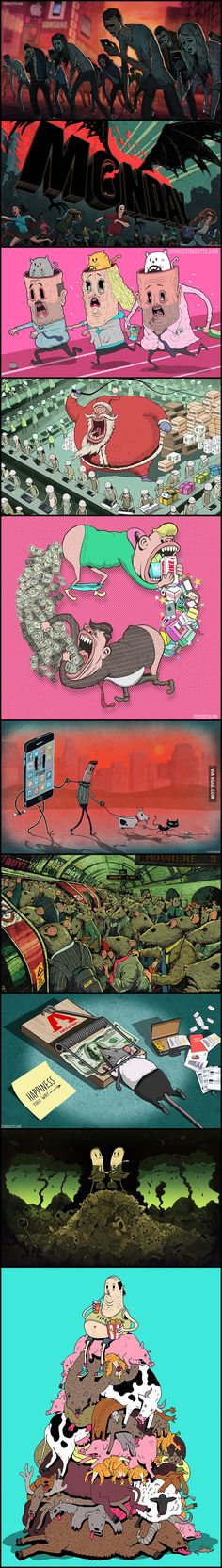 Our brutal reality...