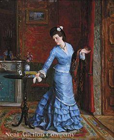 798: Gustave Leonard de Jonghe (Belgian, 1829-1893) : Lot 798