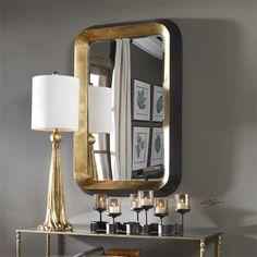 Uttermost Niva Metallic Gold Wall Mirror