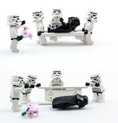 Lego Star Wars - Vader´s disaster
