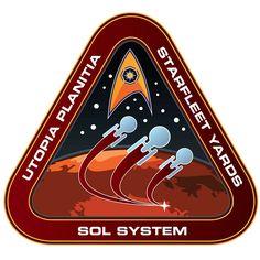 Patch - Utopia Planitia Starfleet Yards