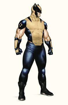 Marvel Xmen, Marvel Comics Art, Character Modeling, Comic Character, Character Design, Du Dudu E Edu, Wolverine Art, Hq Dc, Superhero Design