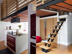 Very Stylish 50 Square Meter Family Duplex Apartment