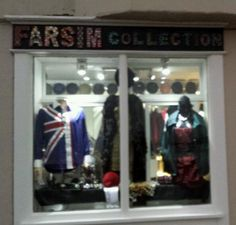 The new fabulous FARSIM COLLECTION BOUTIQUE is a jewel in the 'naval' of Deal.