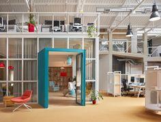 Contemporary Architecture, Architecture Design, Technical Architect, Metal Lattice, Costa, Orange Carpet, Carpet Cover, Cinema Room, Coworking Space