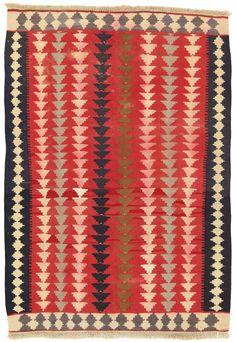 Kilim Fars - Qashqai 141x99 - CarpetU2