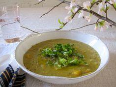 Split peas soup via Amy Chaplin.