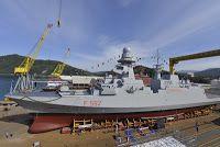 Italy Yard Launch Fremm Warship