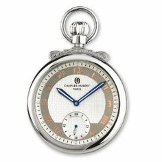 Charles Hubert Gold-plated Off-white Dial Open Face Pocket Watch Jewelry Adviser Charles Hubert Watches. $228.66