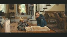 """Behind-the-scenes photos taken during the filming of the Owen Wilson-Jennifer Aniston movie """"Marley & Me"""" at the stone farmhouse in Pennsylvania. Sad Movies, Great Movies, Movie Tv, Marley And Me Movie, Jennifer Aniston Movies, Built In Bookcase, Bookshelf Bench, Staircase Bookshelf, Flooring For Stairs"""