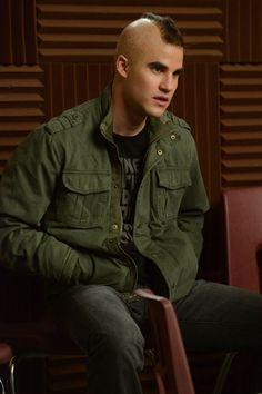 Blaine as Puck... #Glee