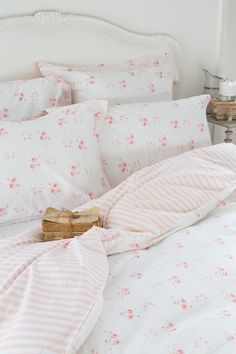 CABBAGES & ROSES for John Lewis * Catherine Rose Pink Bed Linen