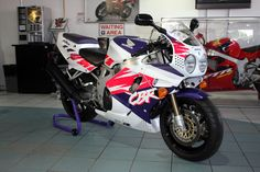 1993 Honda Fireblade CBR900RRP From the second year of Fireblade production the 1993 RRP model featured the 893cc motor producing 124bhp. Already a phenomenal sales success, the 1993 model 'Blade offered only minor changes over the original, including this lurid (but oh so 90's!) colour scheme. Tadao Baba's original design has stood the test of time and we believe every motorcycle enthusiast should ride an early Fireblade at least once.