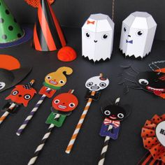 Halloween Party Favor Toys Printable Paper Craft by FantasticToys, $5.00 sweet bet you can do this!