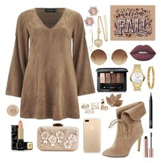 """""""Taj"""" by anishagarner ❤ liked on Polyvore featuring MINKPINK, 424 Fifth, Guerlain, Movado, Lime Crime, Victoria Beckham, Rimmel, Bliss Studio, Cartier and Jennifer Fisher"""