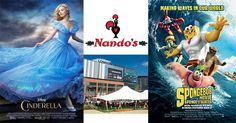 Win tickets to see either Cinderella or SpongeBob Movie II plus Nando's vouchers - Competitions - Junior