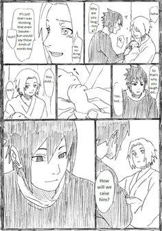 SasuSaku family doujinshi page 6