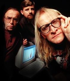 the lone gunmen. the x files. I love the Lone Gunmen but the their spin off TV show was a little disapointing leaning towards the comical unlike the X Files show itself. Pity, if it had been more serious it would have been great. The X Files, David Duchovny, Gillian Anderson, Christopher Eccleston, Paranormal, The Lone Gunmen, Science Fiction, Doctor Who, Chris Carter
