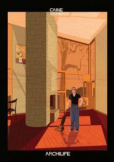 Michael Caine / Khan. (Federico Babina) Archilife