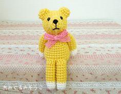 クマの編み図