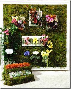 Mayesh Miami Flower Wall - windows of hope