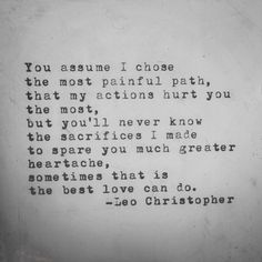 The Best Love Can Do • Leo Christopher