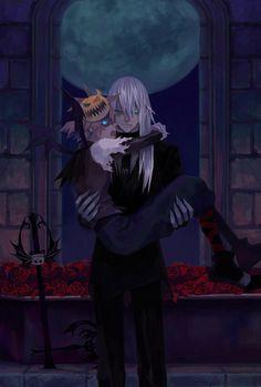 Kingdom Hearts - Riku x Sora - Under the moon by ~RIRASORA on deviantART