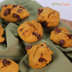 Pumpkin Chocolate Chip Cookies by Angie Shoffner! #TheChew
