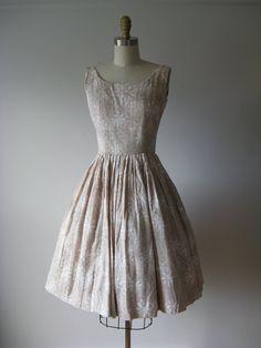 1950s Atomic Starburst #vintage #dress