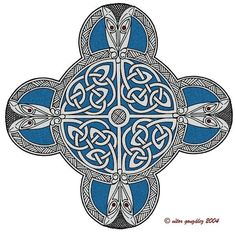 Old design for a tattoo inspired by Pictish jewelry.  Vitor Gonzalez