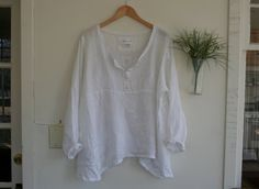 New Listing  Linen Gauze 'Barcelona' Tunic by BreatheAgainClothing