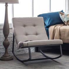Belham Living Grayson Tufted Rocking Chair | www.hayneedle.com