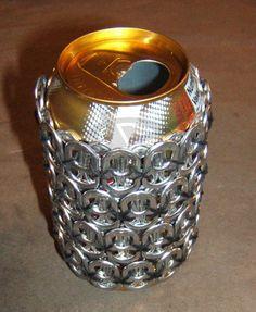 pop tab crafts   Pop/Soda Can 'Insulator' - MISCELLANEOUS TOPICS