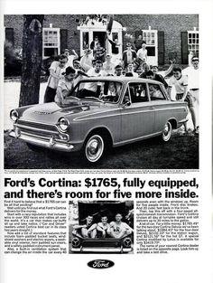Corsair Zephyr Anglia Ford Badge Lotus Cortina Transit Mk 1 Etc